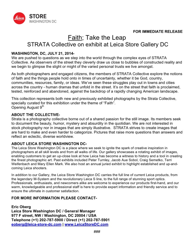 STRATA-Press Release