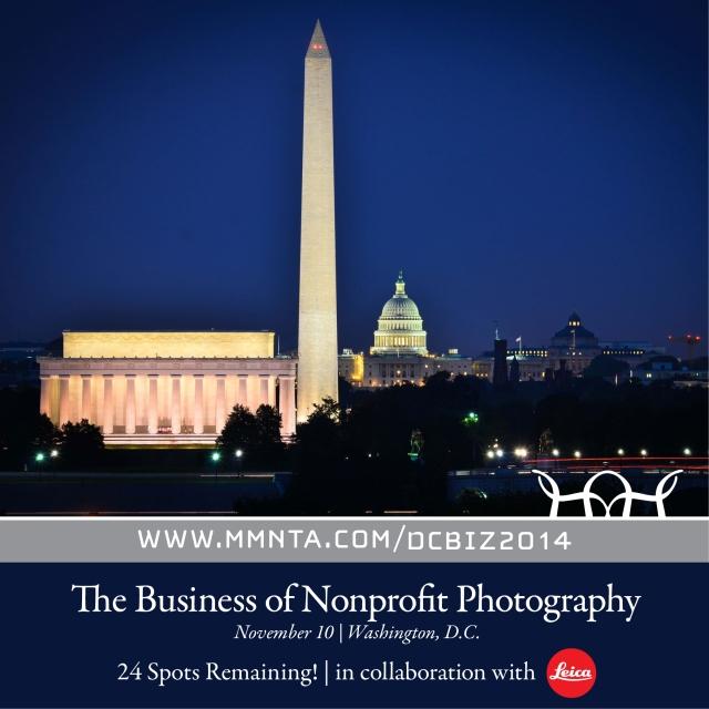 http://www.momentaworkshops.com/workshops/business-of-nonprofit-photography-washington-dc/